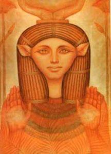 Goddess Hathor soft mango post