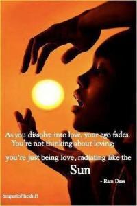 Ram Dass love sun radiance